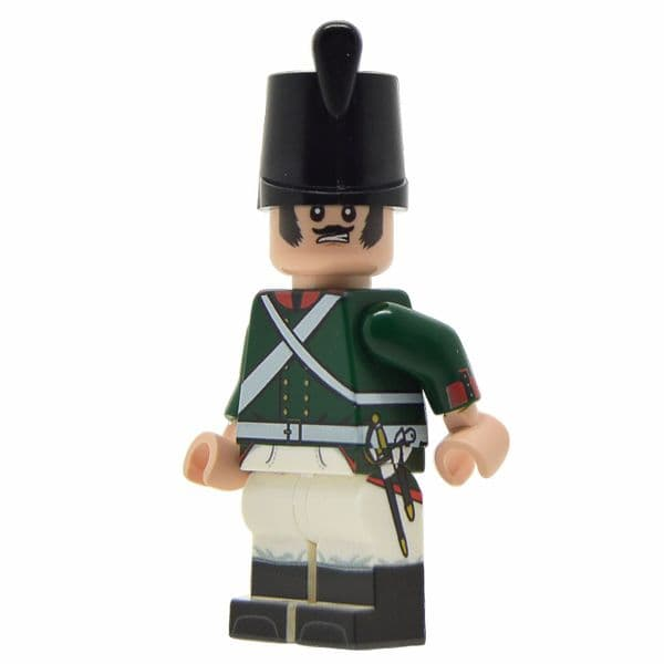 Napoleonic Russian Soldier (1803-1808) | LEGO Minifigure | United Bricks